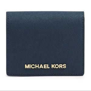 NEW Michael Kors Jet Set Travel Card Holder